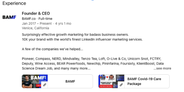 Turning Your LinkedIn Profile Into An Inbound Lead Generation Monster 3